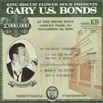 """King Biscuit Flower Hour Presents Gary U.S. Bonds Live at The Stone Pony"" CD"
